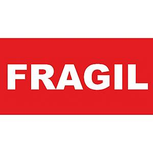 ROLL 200 LABEL FRAGILE 296