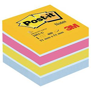 Post-it viestilappukuutio 51x51mm ultraväri