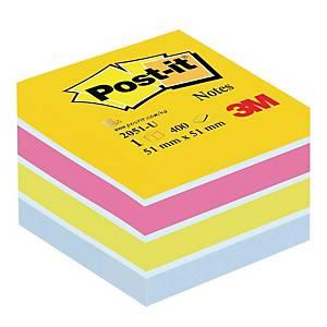 Karteczki samoprzylepne Post-it® mini-Kostka Ultra, 51x51mm, 400 sztuk