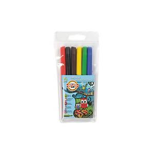 Koh-i-noor filctollak, vegyes színek, 6 db/csomag
