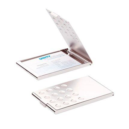 Visitenkartenbox Durable 244023 Für 20 Karten Chrom