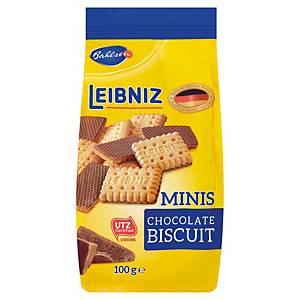 Bahlsen Minis Choco félig mártott keksz 100 g