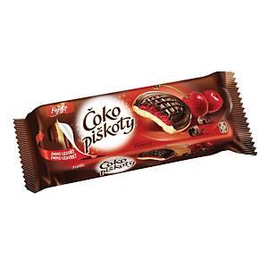 Čokopiškoty Opavia višňové, 147 g