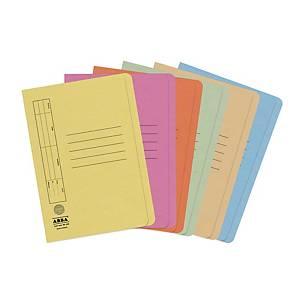 ABBA 350UP Folder Manilla F4 Blue