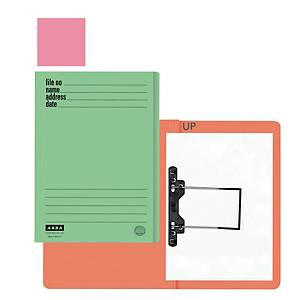 ABBA 102UP Manila Card Folder Pink