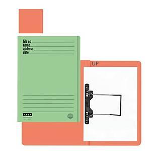 ABBA 102UP Manila Card Folder Orange
