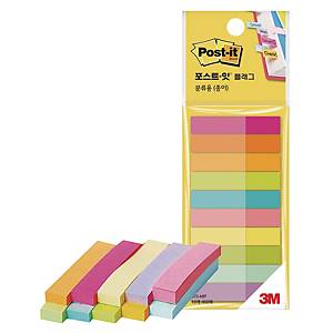 PK10 3M 670-MP POST-IT PAP FLAG 50X10ASS