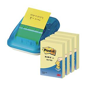 3M 2003 Z-NOTE DISP+PK4 3M REFILL NOTE YELLOW