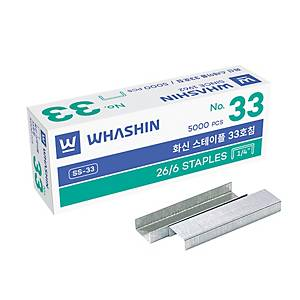 BX5000 WHASHIN No33 HALF STRIP STAPLES