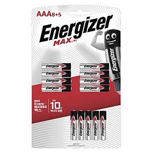 에너자이저 MAX AAA 건전지 8+5개입