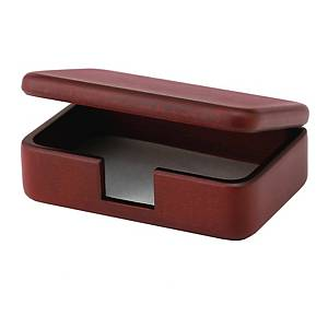MAHOGANY BUSINESS CARD CASE