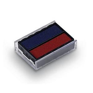 Ersatzkissen Trodat 6/4850/2, blau/rot