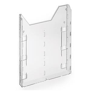 Vaschetta estensione per espositore Durable Combiboxx A4 trasparente