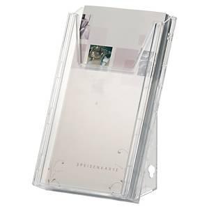 Espositore modulare Durable Combiboxx 1 scomparto 1/3 A4 trasparente