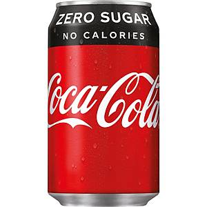 Coca-Cola Zero can 33cl - pack of 24