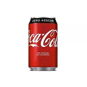 Pack de 24 latas de Coca-Cola Zero - 33 cl