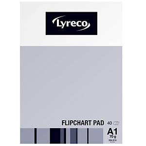 Lyreco Flipchart Pads A1 40-Sheets - Pack Of 5