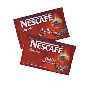 Caja de 10 monodosis  de café soluble Nescafé descafeinado
