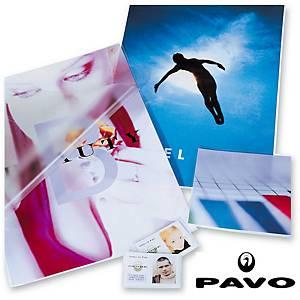 Pavo Express laminointitasku A4 2x125mic kirkas, 1 kpl=100 taskua
