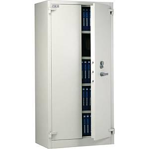 Nauta HS2 fire resistant filing cupboard light grey