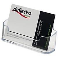 Deflecto visitekaarthouder, A8, 1 vak voor 50 kaartjes, transparant
