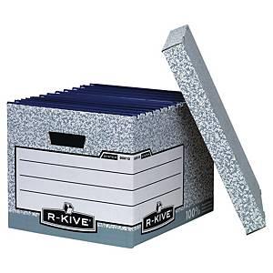 Bankers Box standaard opbergdoos, karton, wit-grijs, FSC, per 10 dozen