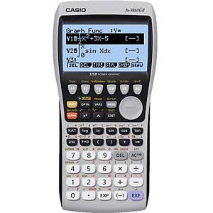Casio FX-9860GII Graphic Calculator, Large Back-Lit Display.