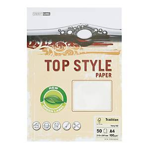 PK50 TOP STYLE TRADITION PAP 100G IVRY