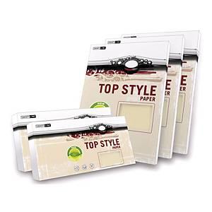 Papír se strukturovaným povrchem Top Style A4 250g/m2, Tradition, slonová kost