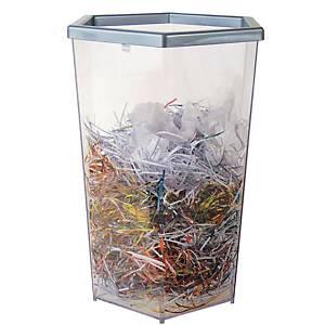 REANGWA RW9271 Transparent Waste Bin 56 Litres Clear