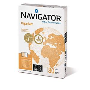 Navigator Organizer kopiopaperi A4 80g rei itys 8cm