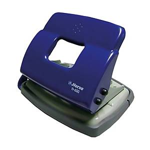 HORSE H-600 2 HOLE PAPER PUNCH ASSORTED COLOURS