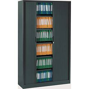 Ariv cupboard 4 shelves 120x198x43 cm anthracite