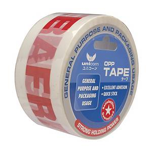 Unicorn Fragile Printed Tape 50 X66mm
