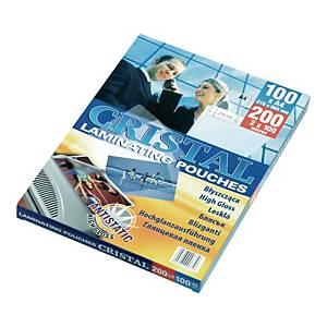 PK100 ARGO LAM POUCH ANTISTATIC A4 100MI