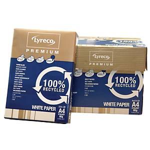 Lyreco Premium Recycled A4 80g - boite de 5 ramettes de 500 feuilles