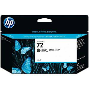 Cartuccia HP No.72 C9403A, 15000 pagine, nero-opaco