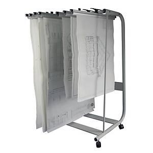 Writebest Plan Hangers Stand - 15 Hangers Capacity