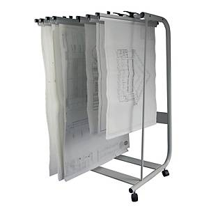 Writebest Plan Hanger Stand - 25 Hangers Capacity