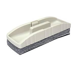 Writebest Peel Off White/Black Whiteboard Eraser 42mm X 150mm X 57mm