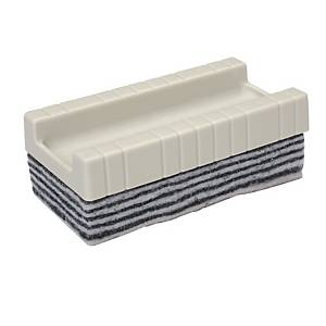 Writebest Peel Off White/Black Whiteboard Eraser 35mm X 95mm X 51mm