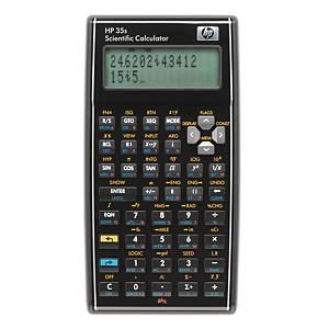 Calculatrice de poche HP 35s, technico-scientifique, version allemande