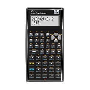 HP 35S scientific calculator - 2 linesx14 characters