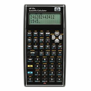 Calculatrice de poche HP 35s, technico-scientifique, version française