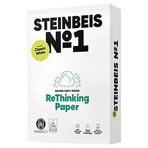 Papier recyclé blanc A3 Steinbeis ClassicWhite - 80 g - ramette 500 feuilles