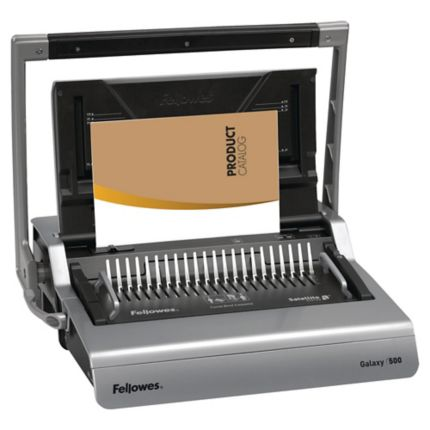 Fellowes Galaxy 500 comb binding machine - perforation 25 pages