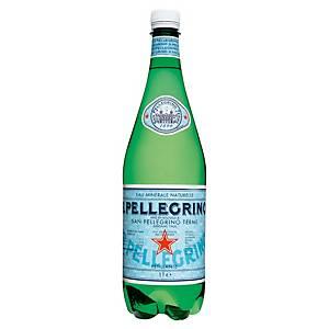 Eau gazeuse San Pellegrino 1 L - pack de 6 bouteilles