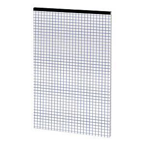 Blok notatnikowy TOP-2000 Office, A4, kratka, 50 kartek, szyty, bez okładki