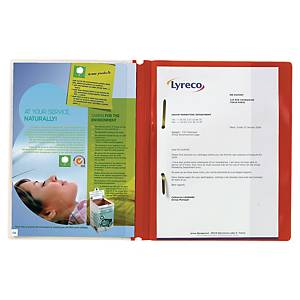 DURAPLUS RED A4 QUOTATION FOLDERS - PACK OF 25