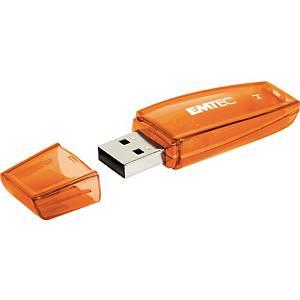 USB-Stick Emtec C410, Speicherkapazität: 4GB, orange